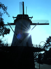 "Mill ""De Vier Winden"" (The Four Winds) (onno de wit) Tags: holland mill rotterdam thenetherlands mills sunbeam zuidholland rotte terbregge"