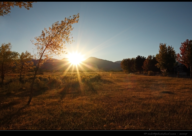easternsierra bishop california sunset photofool