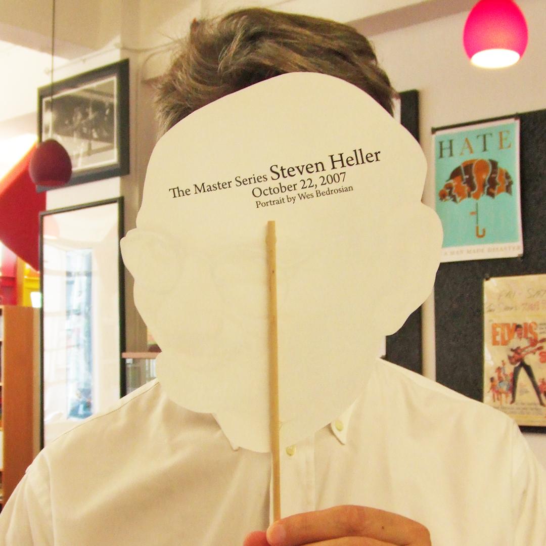 Steven Heller mask back