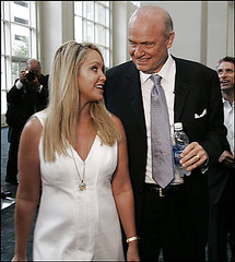 Fred Thompson & wife Jeri