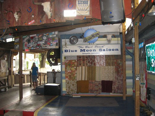 The Blue Moon Saloon, conveniently attatched to the hostel by Dickinson College Environmental Studies Department