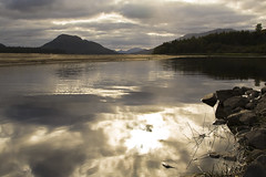 Loch Laggan (Ian Foote) Tags: reflection water scotland lochlaggan grouptripod
