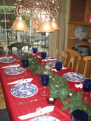 Christmas Table-Setting