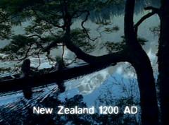 New Zealand 1200 AD