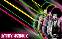 Diseo Hendrix (Javier Piragauta) Tags: art 1969 rock collage photoshop vintage lights design arte retro glam hendrix diseo vector vectorial vectores piragauta