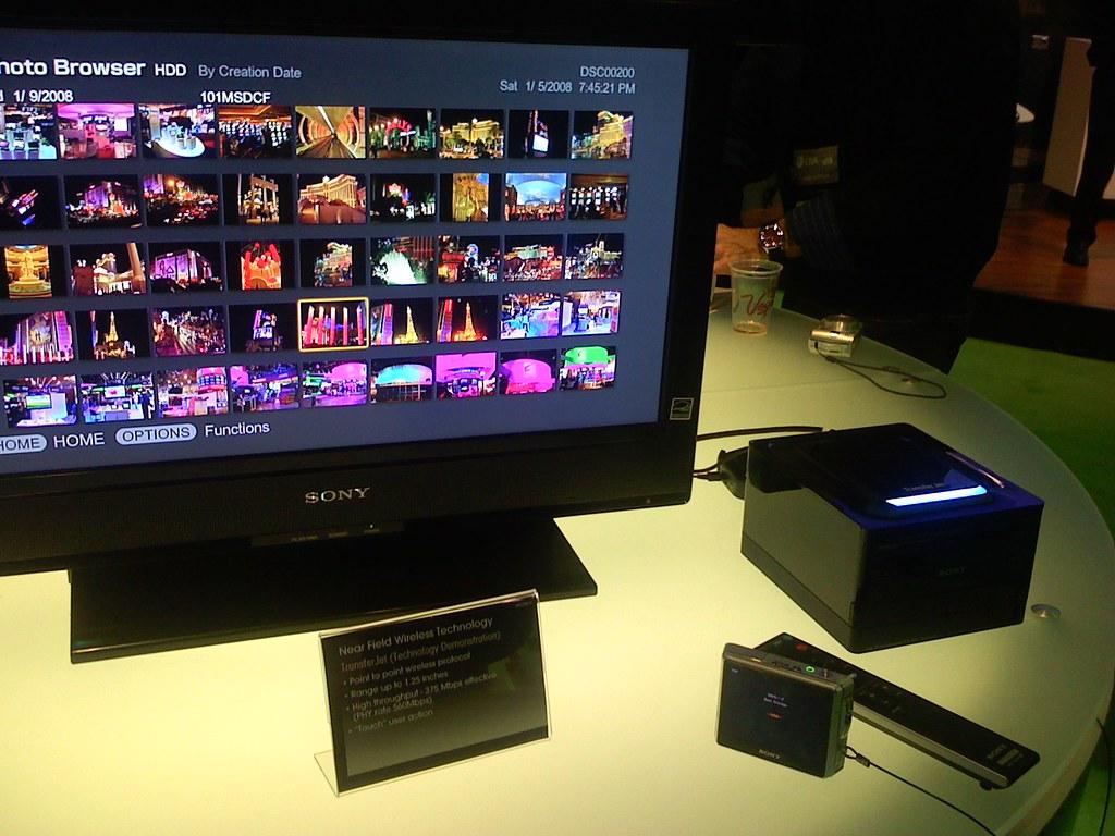 More on Sony's near field Wireless Technology