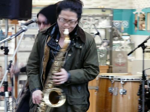 サクソフォーン奏者