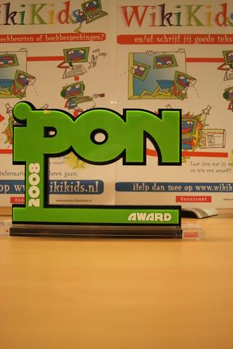 WikiKids wint IPON-award