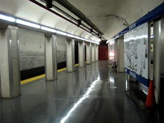 Bowdoin, outbound platform (emdurso) Tags: boston blueline massachusetts mbta bowdoinstation