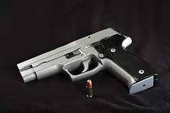 Sig Sauer P226 (WickedVT) Tags: studio gun flash pistol custom sig handgun ccr 9mm 226 p226 sigsauer sigarms strobist