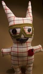 William Tell! (Dolls for Friends) Tags: cute vancouver oregon portland toy toys doll dolls handmade ooak plush sewn reclaimed washingon dollsforfriends