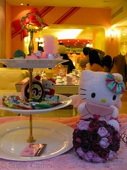 Hello Kitty Cafe Taipei Taiwan Window display (Chamelle Photo) Tags: pink food cute cakes public cake cat japanese this restaurant see design cafe all with photos sweet hellokitty interior treats cartoon taiwan icon tagged desserts chandelier birthdaycake bakery kawaii pastry sweets theme click taipei   pastries decor  fuxing zhongxiao daanroad hellokittysweets