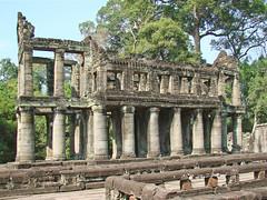 Salle hypostyle du Preah Khan