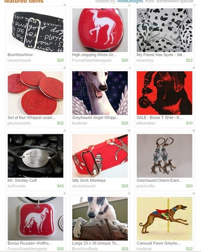 Handmade 4 Hounds Treasury