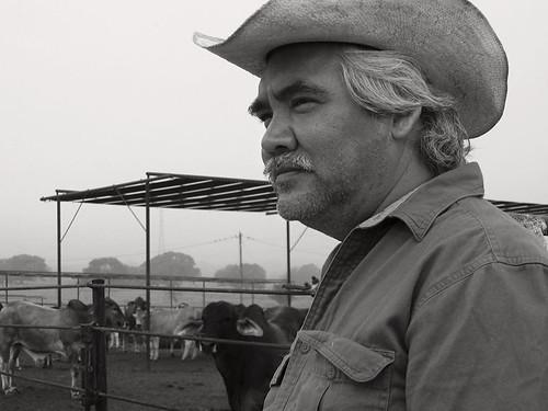 Pedro Castaneda, star of August Evening directed by Chris Eska