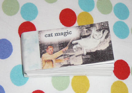 cat magic flip book
