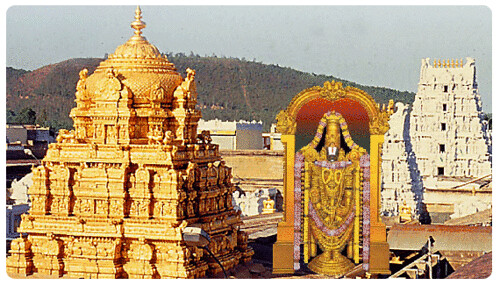 Mythological Names of Lord Venkateswara - Balaji