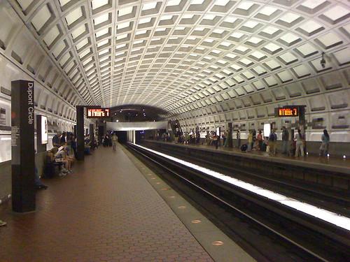 Dupont Circle Metro station in Washington DC - Taken With An iPhone