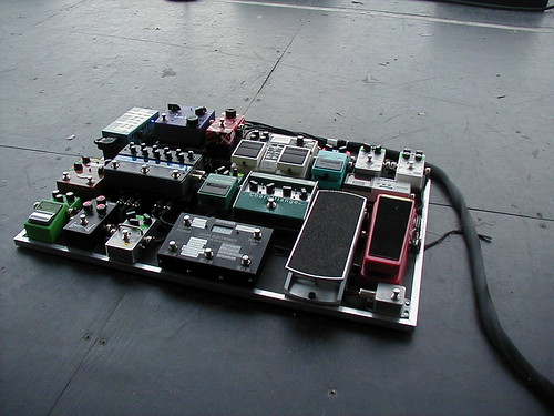 Guitar Pedal Board for Simple Plan