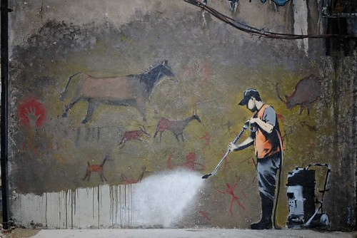 Banksy at The Cans Festival