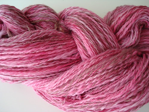 Handspun Strawberry Shortcake 003
