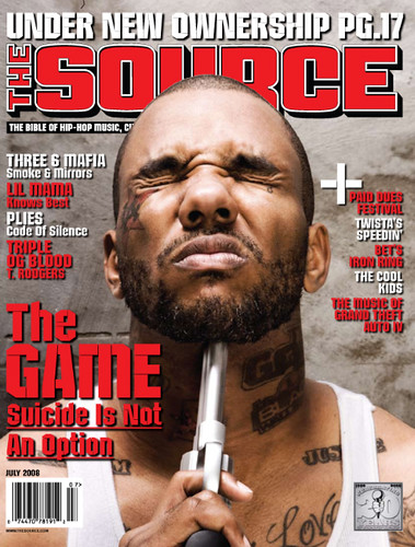 the Game the source magazine july cover