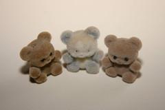 3 tiny bears