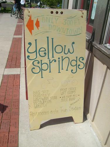 Yellow Springs!
