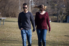 spring in winter (Jeff Hayward (@pointandwrite)) Tags: people love couples candid warmth seasons outdoors parks