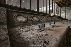 I like it rusty and dusty! (Kristel van de Laar Photography) Tags: abandoned empty decay belgium urbex industry indoor iron window photography