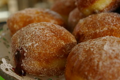 Raspberry Jam Donuts