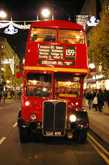 IMGP2037.jpg (Steve Guess) Tags: bus london buses night lastday regentstreet christmaslights routemaster xmaslights streatham rtw rt lt oxfordst rm tfl 159 rml route159