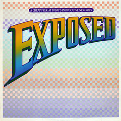 Words n' Music - Exposed (epiclectic) Tags: music art vintage sampler album vinyl retro collection jacket cover lp record 1981 sleeve exposed compilation variousartists epiclectic wordsmusicnopictures