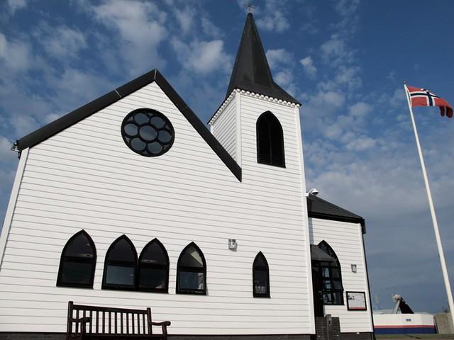 église norvégienne à Cardiff