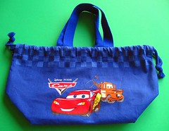 Cars bento lunch bag for child