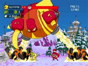 Alien Hominid Gamecube Screenshot