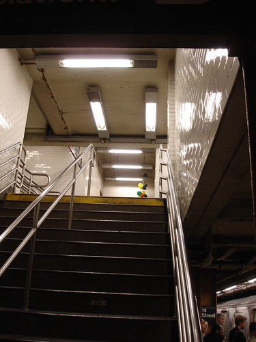 stairs at Union Square subway