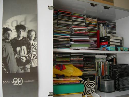 Afiche de Soda Stereo (época Dynamo)