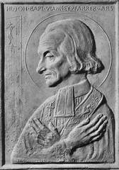 Relief Pfarrer von Ars