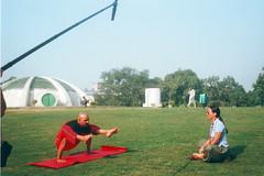 yoga guru 03 (su_mann009) Tags: yoga tv italian indian culture through guru singh captures suneel la7