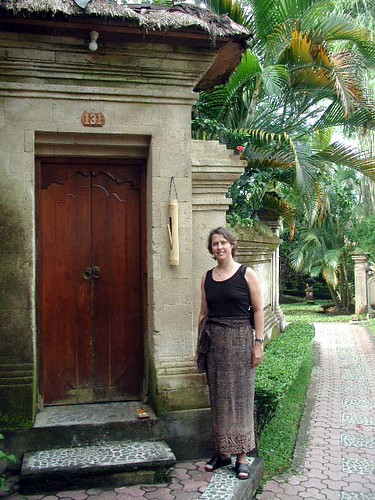 Ubud Village Hotel Doorway
