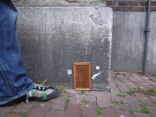 A little door