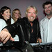 Richard Branson with James Murphy at The RE*Generation Gallery Auction
