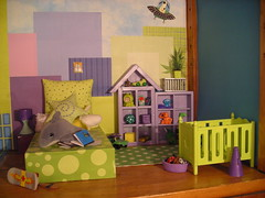 The boys' room (amber e/ Love Nest) Tags: house boys george dolls room barbie tommy bobby ricky dollhouse maj madge