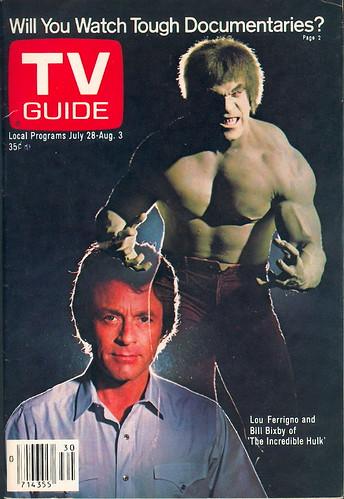 Tv Guia Lou Ferrigno Increíble Hulk