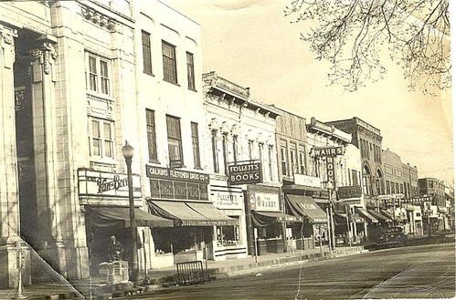 State Street, north from North University, about 1945.