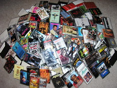 The actual cassette pile - click it for a larger version!