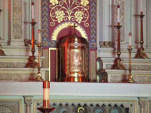 Saint Peter Roman Catholic Church, in Saint Charles, Missouri, USA - tabernacle.jpg