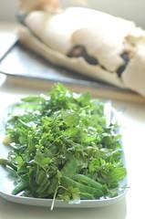 pea & asparagus salad