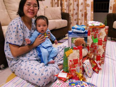 Julian and his presents